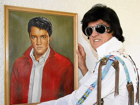 Elvis imitátor