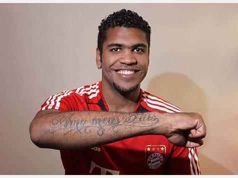 Sports Tattoos on Breno Zeigt Seine Tattoos   Fc Bayern   Sport   Tz Online De