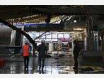 Flughafendach in Faro eingestürzt